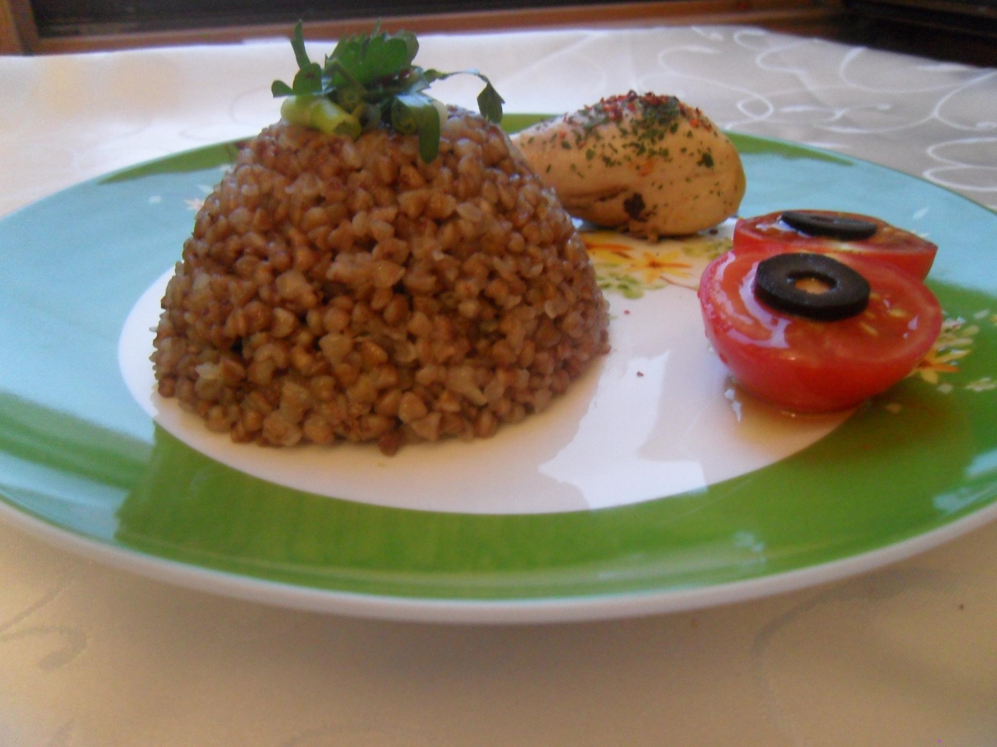 Greçka (karabuğday) Pilavı Tarifi